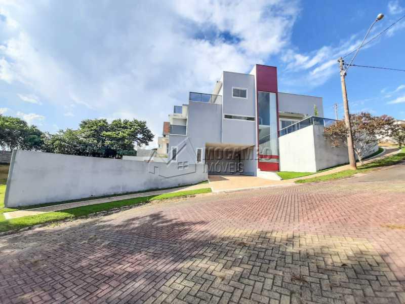 Vista lateral. - Casa em Condomínio 3 quartos à venda Itatiba,SP - R$ 1.099.000 - FCCN30455 - 23