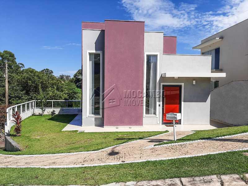 Fachada - Casa em Condomínio 3 quartos à venda Itatiba,SP - R$ 1.099.000 - FCCN30455 - 1