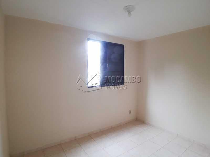 Dormitório 02 - Apartamento Condomínio Edifício João Corradini, Itatiba, Núcleo Residencial João Corradini, SP Para Alugar, 2 Quartos, 50m² - FCAP21083 - 5