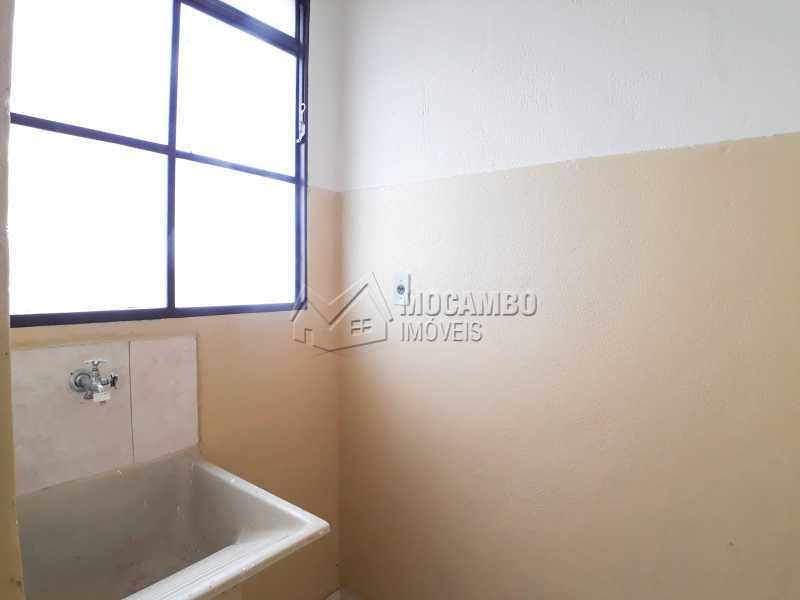 Lavanderia  - Apartamento Condomínio Edifício João Corradini, Itatiba, Núcleo Residencial João Corradini, SP Para Alugar, 2 Quartos, 50m² - FCAP21083 - 7