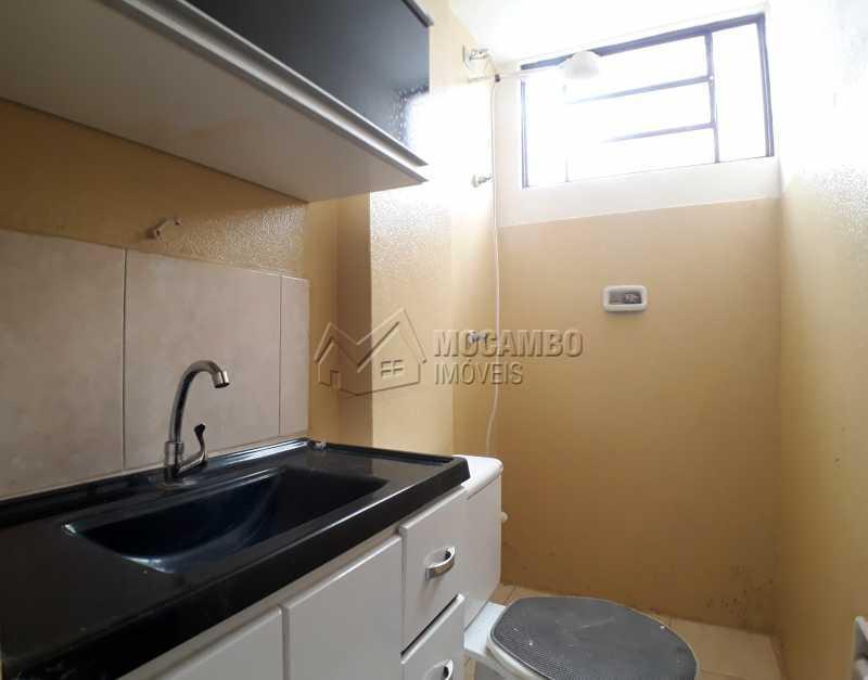Banheiro  - Apartamento Condomínio Edifício João Corradini, Itatiba, Núcleo Residencial João Corradini, SP Para Alugar, 2 Quartos, 50m² - FCAP21083 - 6