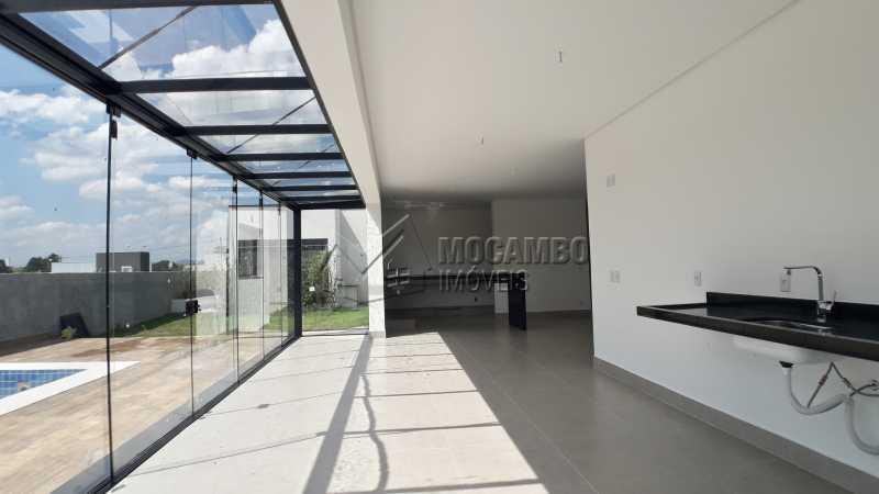 Área Gourmet - Casa em Condomínio 3 quartos à venda Itatiba,SP - R$ 1.250.000 - FCCN30456 - 6