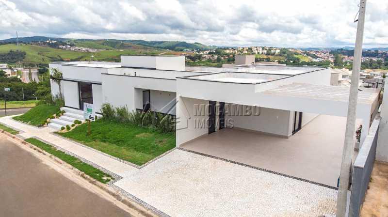 Fachada da Casa - Casa em Condomínio 3 quartos à venda Itatiba,SP - R$ 1.250.000 - FCCN30456 - 18
