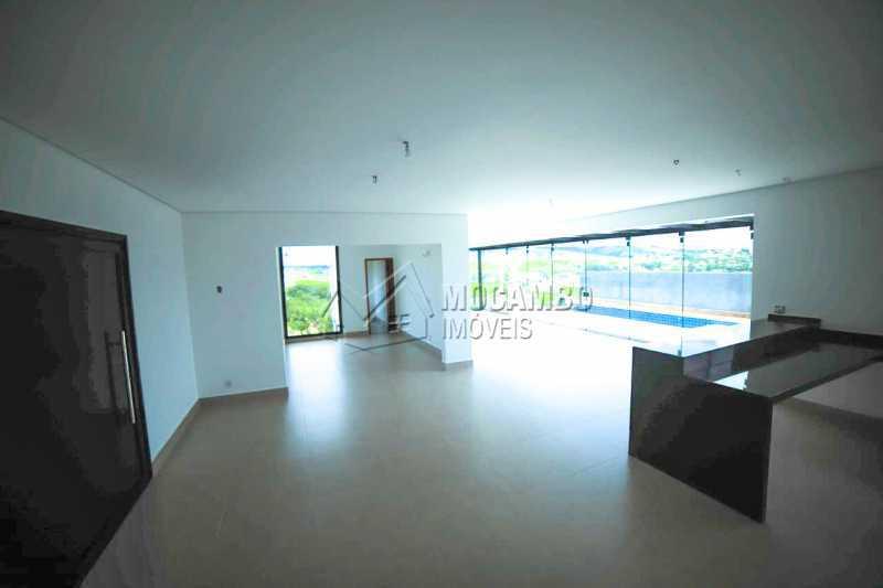 Salas Ambientes - Casa em Condomínio 3 quartos à venda Itatiba,SP - R$ 1.250.000 - FCCN30456 - 3