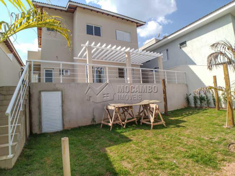 Fundos - Casa em Condomínio 3 quartos à venda Itatiba,SP - R$ 850.000 - FCCN30457 - 3