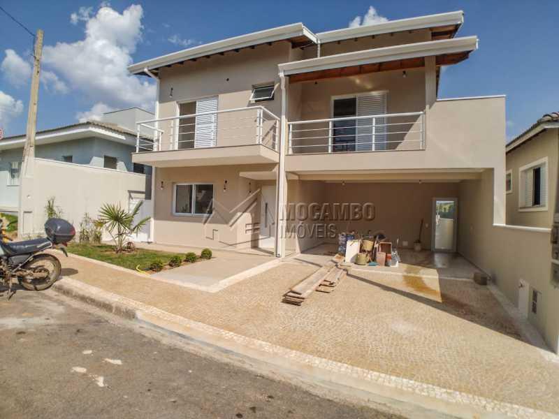 Fachada - Casa em Condomínio 3 quartos à venda Itatiba,SP - R$ 850.000 - FCCN30457 - 4