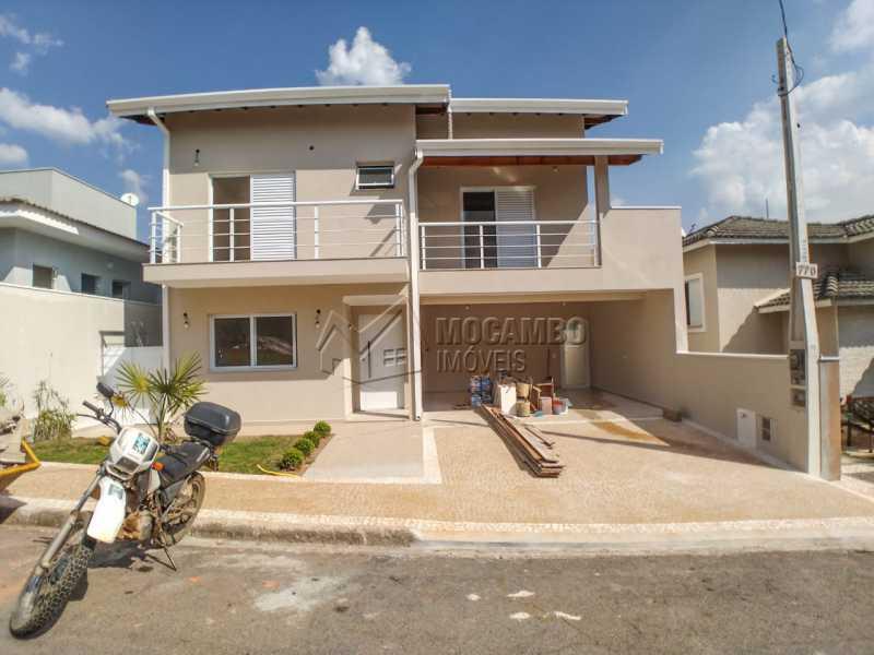 Fachada - Casa em Condomínio 3 quartos à venda Itatiba,SP - R$ 850.000 - FCCN30457 - 1