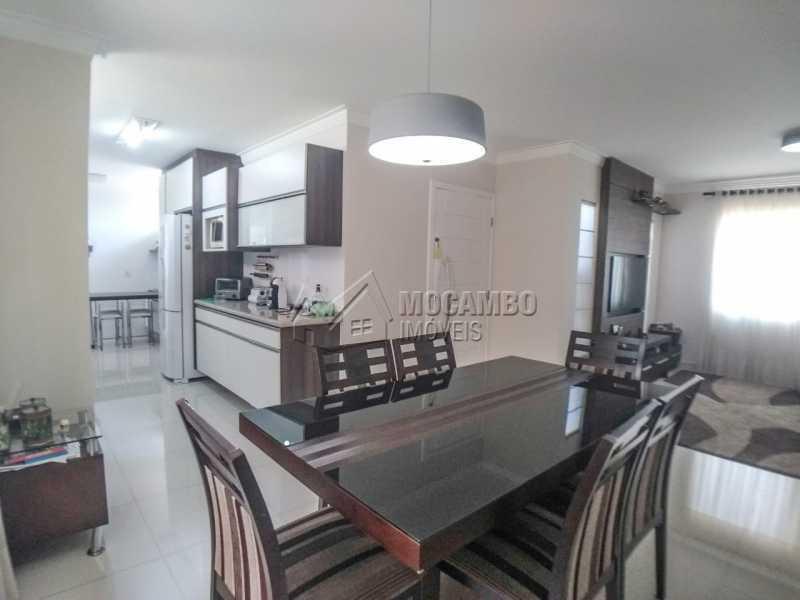Sala de jantar. - Casa 3 quartos à venda Itatiba,SP - R$ 679.000 - FCCA31335 - 6
