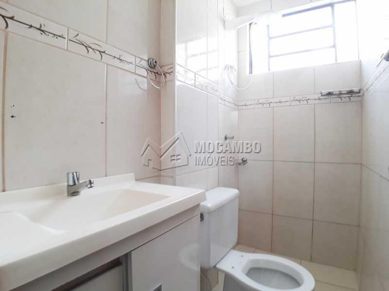 Banheiro  - Apartamento Condomínio Núcleo Residencial João Corradini, Itatiba, Núcleo Residencial João Corradini, SP Para Alugar, 2 Quartos, 50m² - FCAP21086 - 6