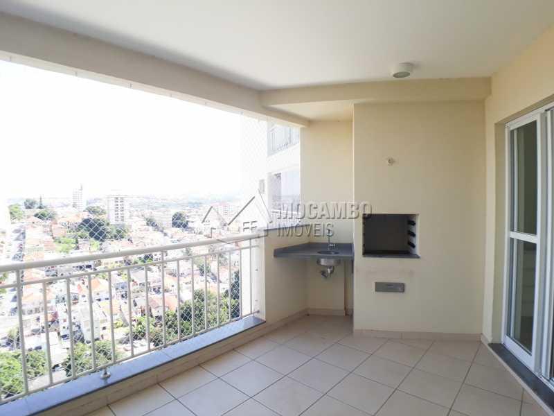Varanda - Apartamento 3 quartos para alugar Itatiba,SP - R$ 2.900 - FCAP30553 - 1