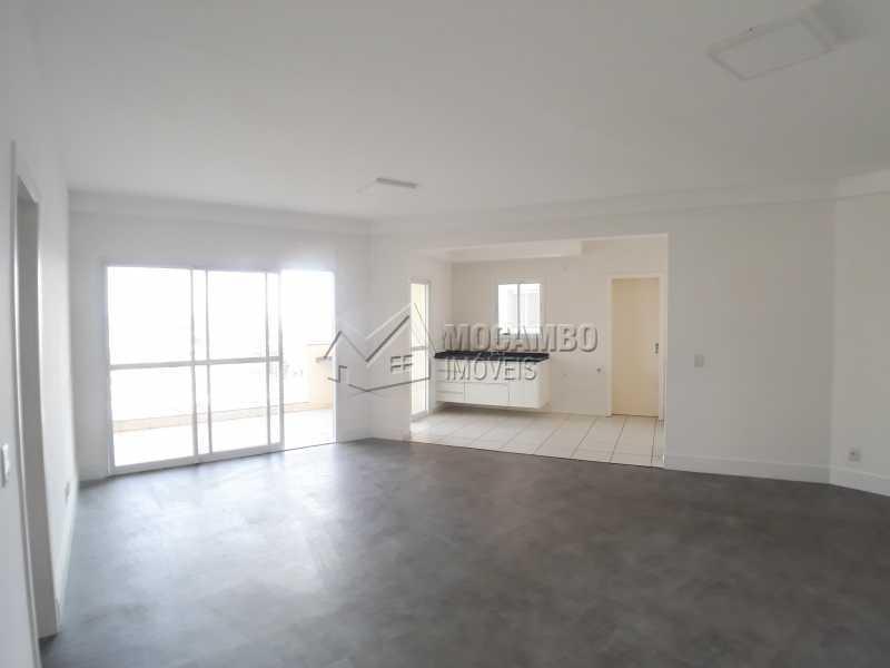 Sala // Cozinha - Apartamento 3 quartos para alugar Itatiba,SP - R$ 2.900 - FCAP30553 - 9