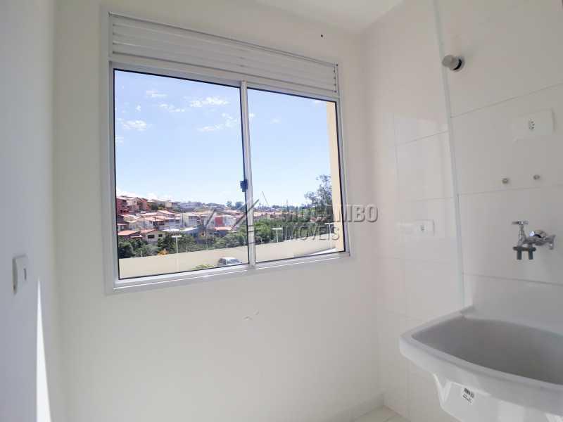 Lavanderia  - Apartamento Condomínio Finezzi Residence, Itatiba, Nova Itatiba, SP Para Alugar, 2 Quartos, 50m² - FCAP21087 - 9