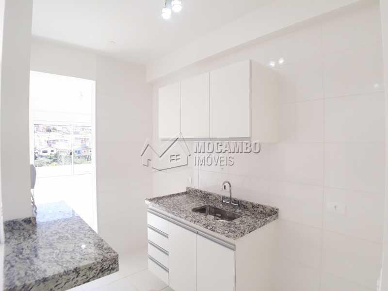 Cozinha - Apartamento Condomínio Finezzi Residence, Itatiba, Nova Itatiba, SP Para Alugar, 2 Quartos, 50m² - FCAP21087 - 1