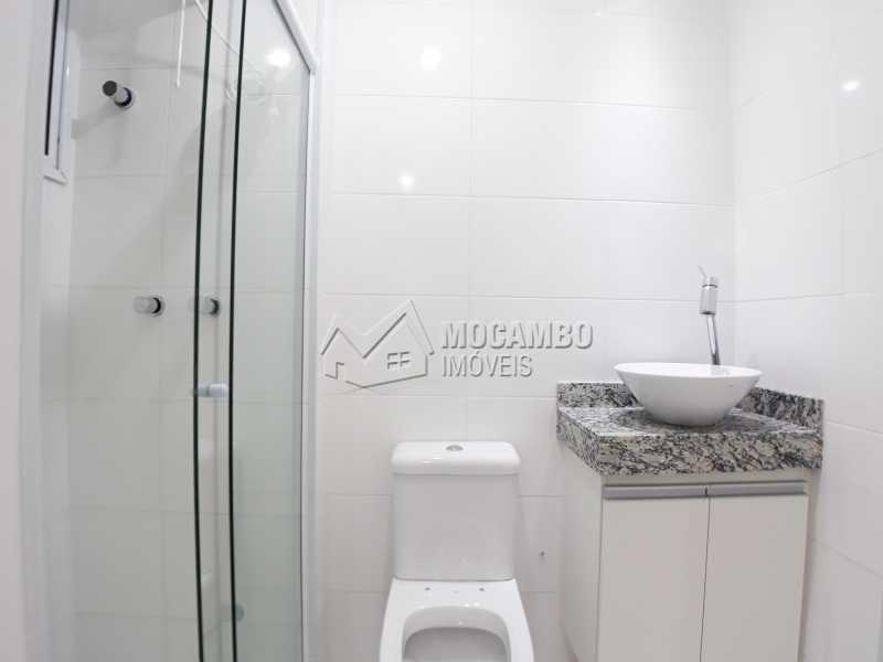 Banheiro Suite  - Apartamento Condomínio Finezzi Residence, Itatiba, Nova Itatiba, SP Para Alugar, 2 Quartos, 50m² - FCAP21087 - 6