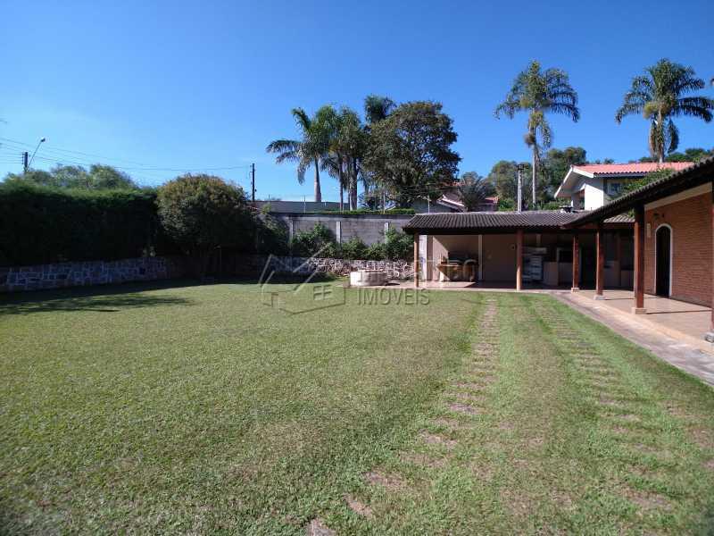 Área Externa - Chácara 1238m² à venda Itatiba,SP - R$ 745.000 - FCCH20065 - 7