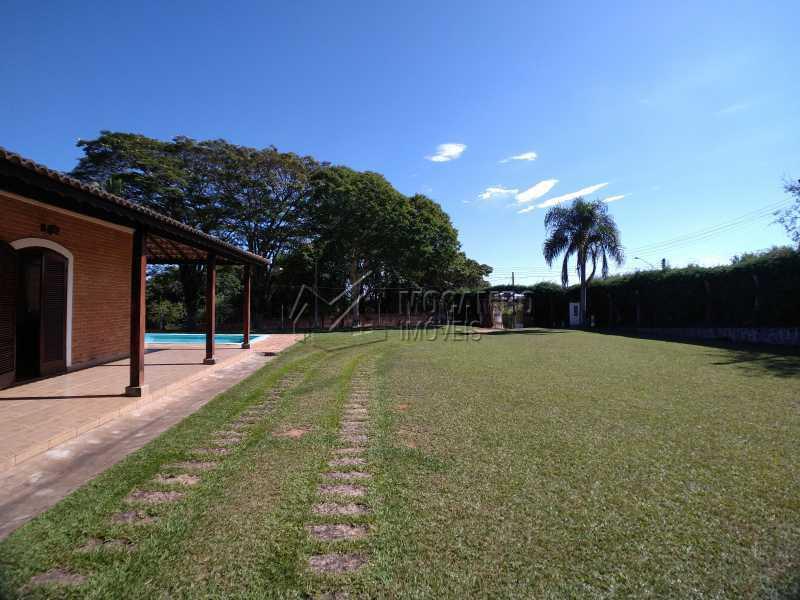 Área Externa - Chácara 1238m² à venda Itatiba,SP - R$ 745.000 - FCCH20065 - 8
