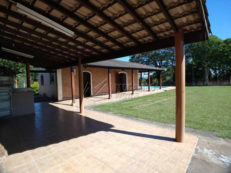 Varanda - Chácara 1238m² à venda Itatiba,SP - R$ 745.000 - FCCH20065 - 11