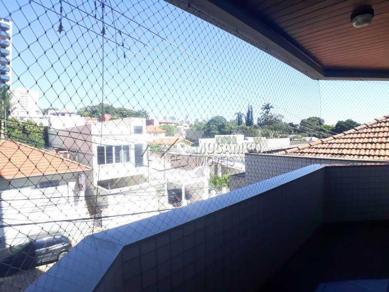 Varanda  - Apartamento 3 Quartos Para Alugar Itatiba,SP - R$ 2.500 - FCAP30554 - 11
