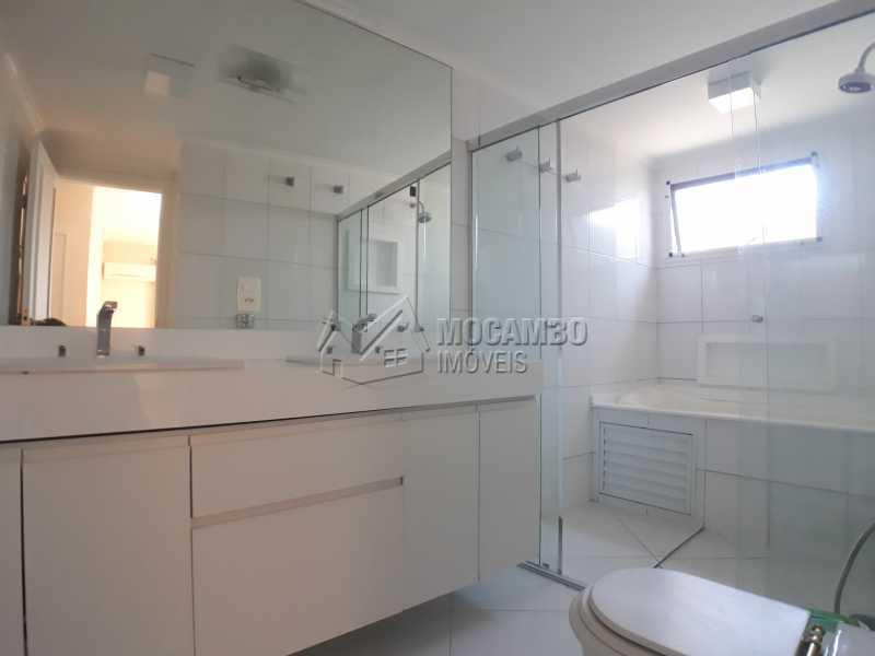 Banheiro Suíte  - Apartamento 3 Quartos Para Alugar Itatiba,SP - R$ 2.500 - FCAP30554 - 5