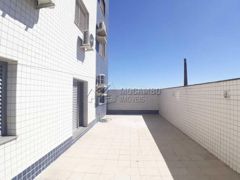 Quintal - Apartamento 3 Quartos Para Alugar Itatiba,SP - R$ 2.500 - FCAP30554 - 16