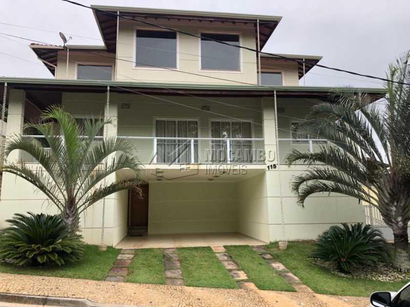 Fachada - Casa em Condomínio 3 quartos à venda Itatiba,SP - R$ 960.000 - FCCN30458 - 1