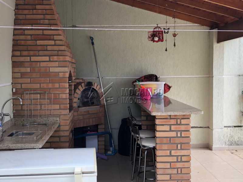 Churrasqueira - Casa em Condomínio 3 quartos à venda Itatiba,SP - R$ 960.000 - FCCN30458 - 18