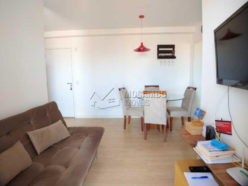 Sala - Apartamento 2 quartos à venda Itatiba,SP - R$ 215.000 - FCAP21090 - 5