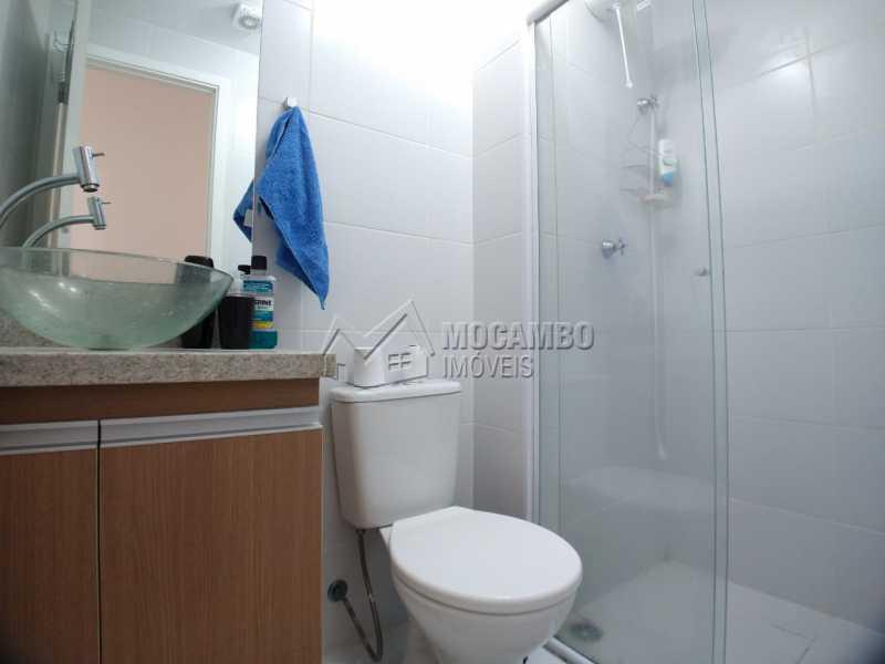Banheiro  - Apartamento 2 quartos à venda Itatiba,SP - R$ 215.000 - FCAP21090 - 8