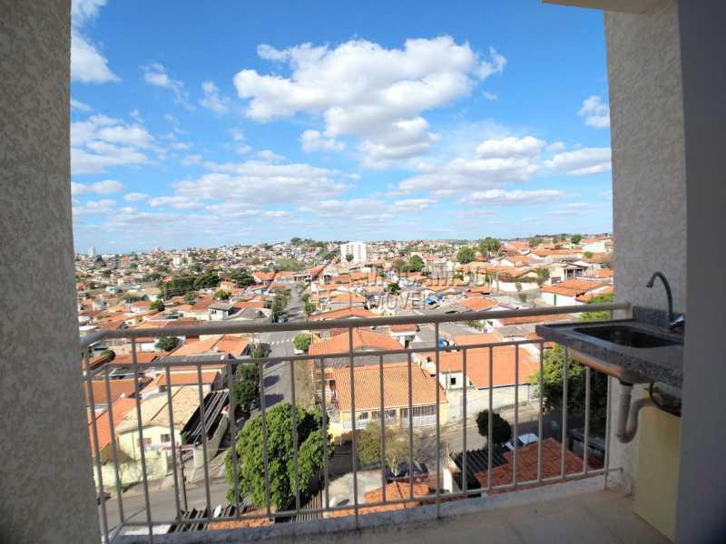 Varanda - Apartamento 2 quartos à venda Itatiba,SP - R$ 215.000 - FCAP21090 - 9