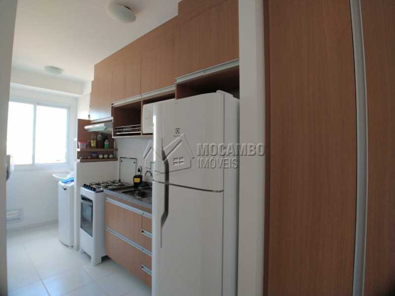 Cozinha - Apartamento 2 quartos à venda Itatiba,SP - R$ 215.000 - FCAP21090 - 4