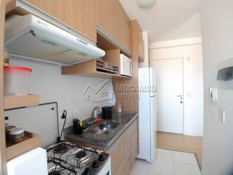 Cozinha  - Apartamento 2 quartos à venda Itatiba,SP - R$ 215.000 - FCAP21090 - 3