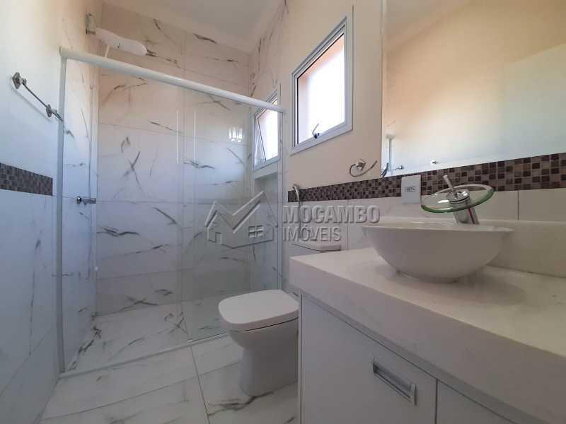 Baheiro da suite. - Casa em Condomínio 3 quartos à venda Itatiba,SP - R$ 1.390.000 - FCCN30460 - 22