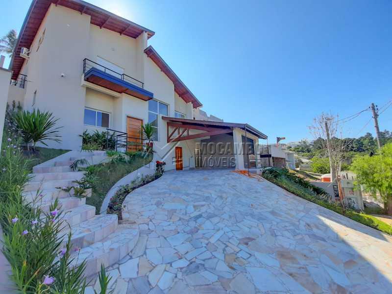 Fachada - Casa em Condomínio 3 quartos à venda Itatiba,SP - R$ 1.390.000 - FCCN30460 - 1