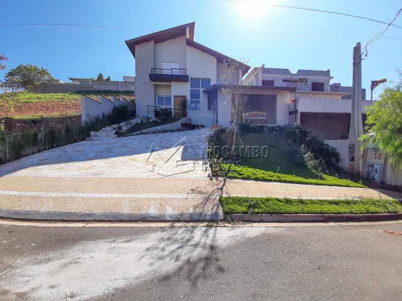 Fachada. - Casa em Condomínio 3 quartos à venda Itatiba,SP - R$ 1.390.000 - FCCN30460 - 3