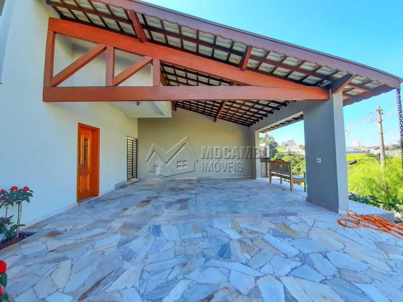 Garagem. - Casa em Condomínio 3 quartos à venda Itatiba,SP - R$ 1.390.000 - FCCN30460 - 4