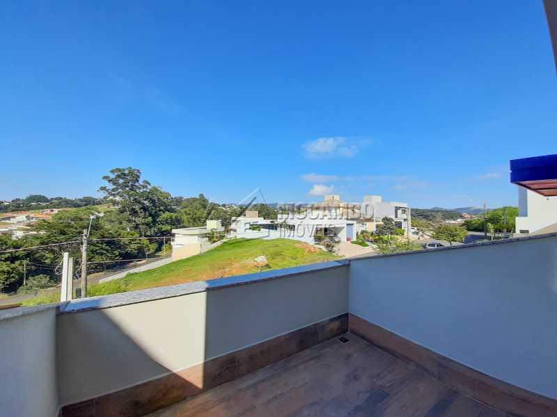 Sacada da Sala. - Casa em Condomínio 3 quartos à venda Itatiba,SP - R$ 1.390.000 - FCCN30460 - 9