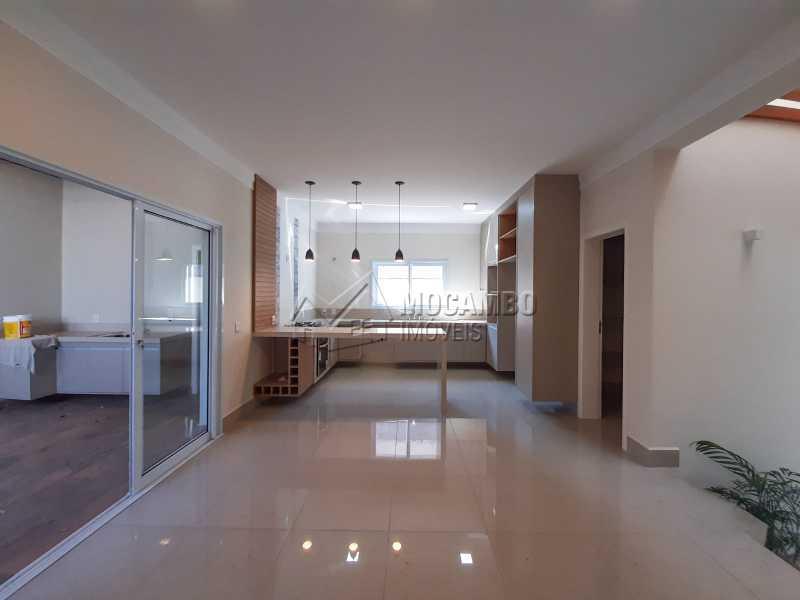 Sala de Janter. - Casa em Condomínio 3 quartos à venda Itatiba,SP - R$ 1.390.000 - FCCN30460 - 12