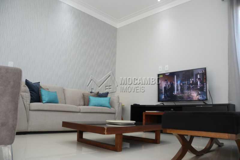 Sala de Estar - Casa em Condomínio 3 quartos à venda Itatiba,SP - R$ 880.000 - FCCN30461 - 3