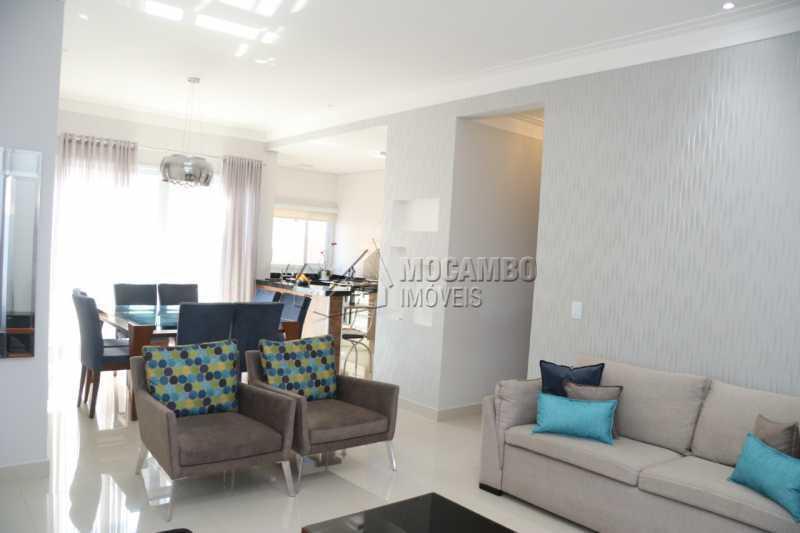 Salas - Casa em Condomínio 3 quartos à venda Itatiba,SP - R$ 880.000 - FCCN30461 - 5