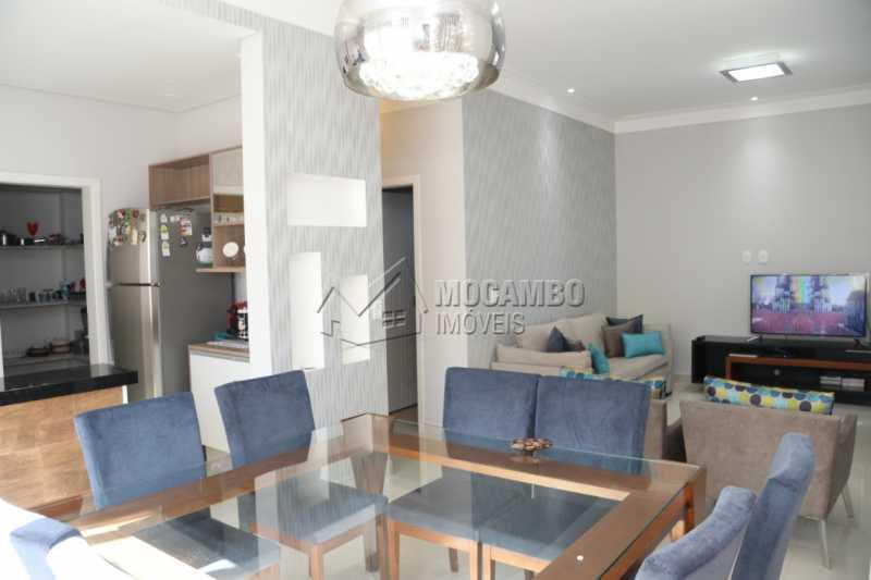 Sala de Jantar  - Casa em Condomínio 3 quartos à venda Itatiba,SP - R$ 880.000 - FCCN30461 - 4
