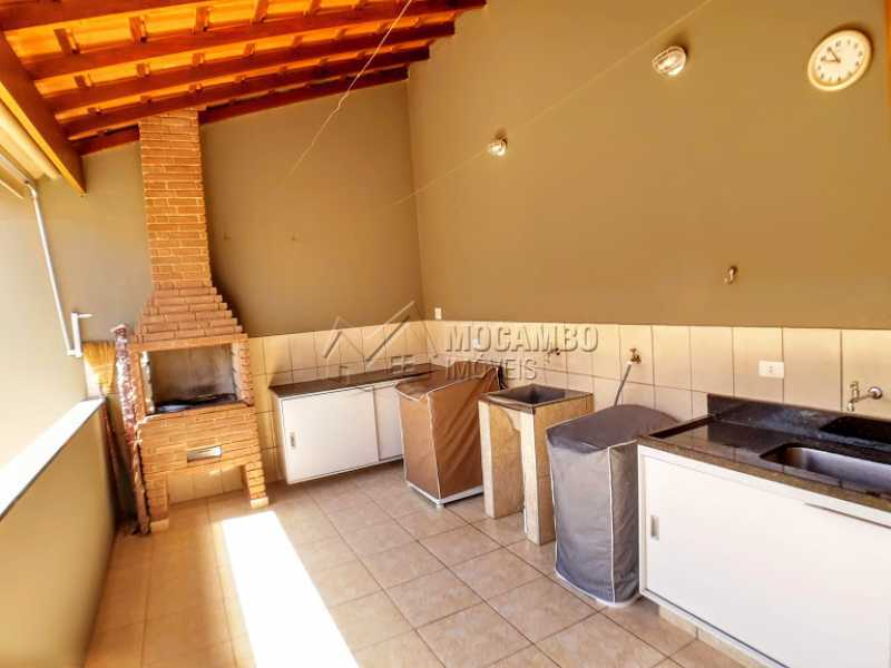 Churrasqueira  - Casa 3 Quartos À Venda Itatiba,SP - R$ 520.000 - FCCA31348 - 9