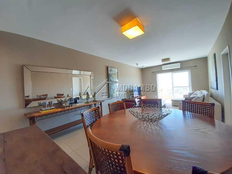Sala de Jantar - Apartamento 3 quartos à venda Itatiba,SP - R$ 649.000 - FCAP30556 - 3