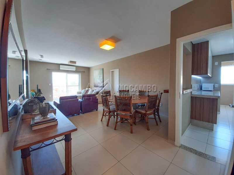 Sala de Jantar. - Apartamento 3 quartos à venda Itatiba,SP - R$ 649.000 - FCAP30556 - 1