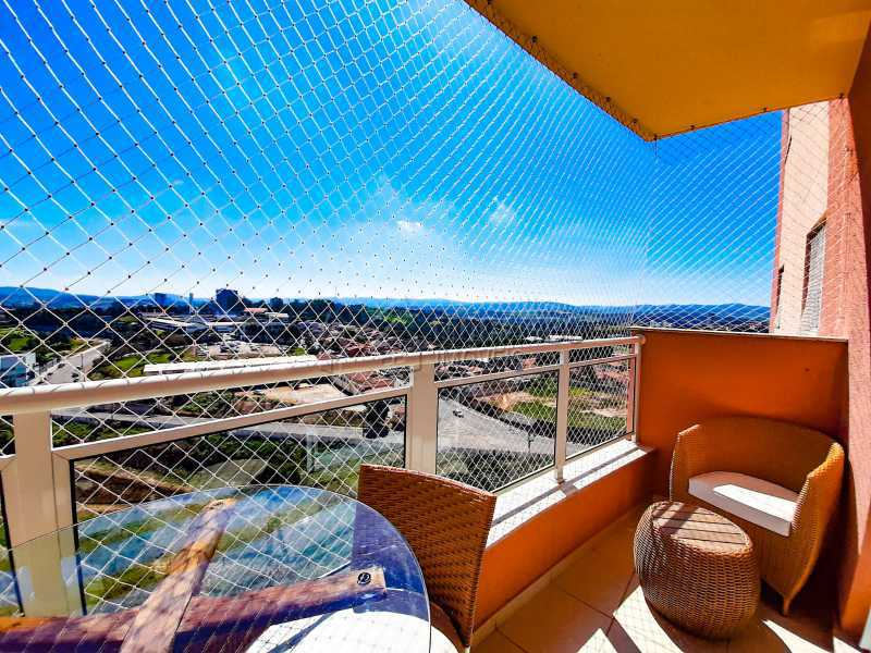 Varanda. - Apartamento 3 quartos à venda Itatiba,SP - R$ 649.000 - FCAP30556 - 6