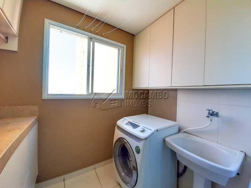 Lavanderia. - Apartamento 3 quartos à venda Itatiba,SP - R$ 649.000 - FCAP30556 - 10