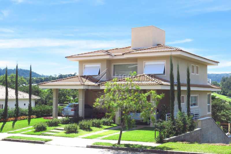 Fachada - Casa em Condomínio 4 quartos para venda e aluguel Itatiba,SP - R$ 13.200 - FCCN40159 - 1