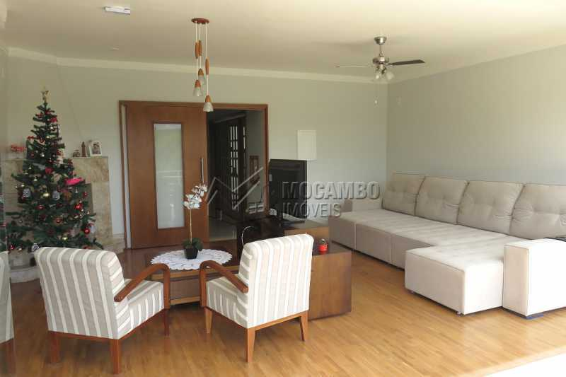 Sala - Casa em Condomínio 4 quartos para venda e aluguel Itatiba,SP - R$ 13.200 - FCCN40159 - 5