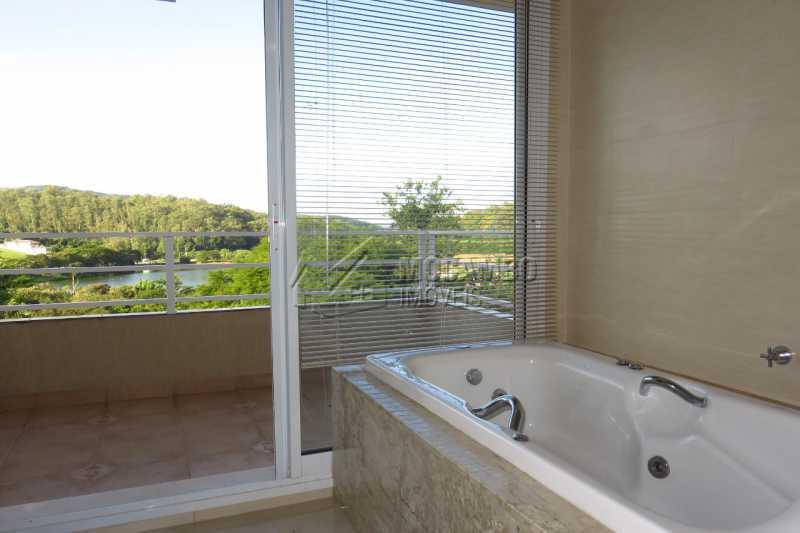 Banheiro Suíte - Casa em Condomínio 4 quartos para venda e aluguel Itatiba,SP - R$ 13.200 - FCCN40159 - 14