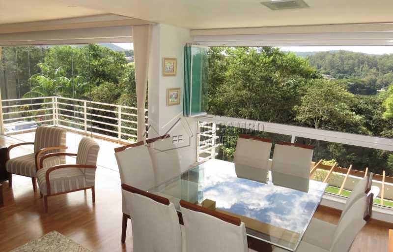 Sala - Casa em Condomínio 4 quartos para venda e aluguel Itatiba,SP - R$ 13.200 - FCCN40159 - 6