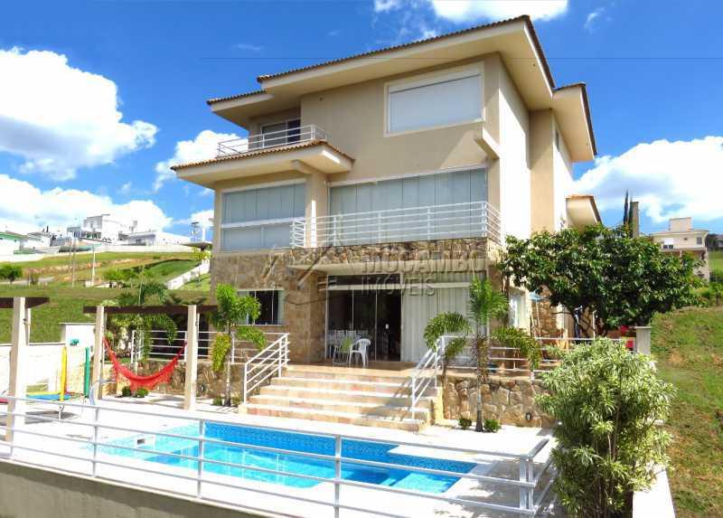 Fachada dos Fundos - Casa em Condomínio 4 quartos para venda e aluguel Itatiba,SP - R$ 13.200 - FCCN40159 - 21